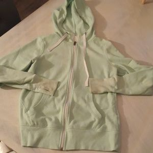 Free with $15 purchase Green zip up hoodie M